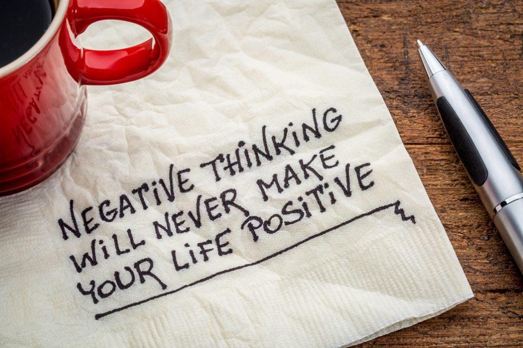 Prüfungsangst - negative Gedanken